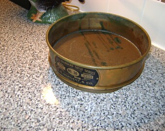 Antique Sieve - Sargent and Company