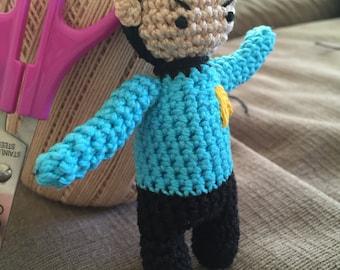 Amigurumi Spock
