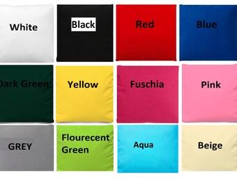 "Plain Poly cotton fabric solid color width 45"""
