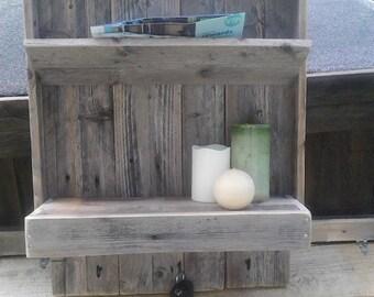 Pallet Shelf Key/Mail holder