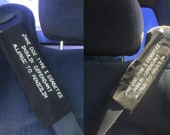 First Responder Seat Belt Strap