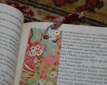 Marque-page en papier Japonais // Bookmark Japanese Paper