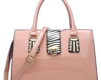 Touch Of Zebra Hand Bag