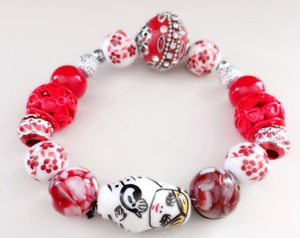 Red Doll Bracelet