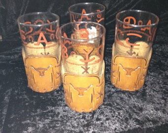 Western Brand Highball Glasses