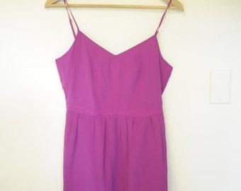 Flirty Magenta Madewell dress