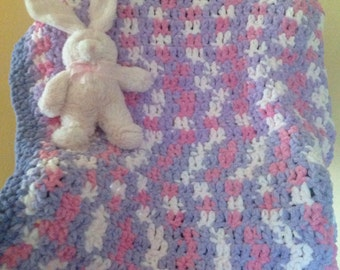 Crochet Baby Blankets, Crib Baby Blanket, Stroller Baby Blanket, Crib Blanket, Baby Shower Gift,  Baby Afghan, Soft Baby Blanket