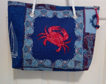 Calico Coastal shopper tote bag.
