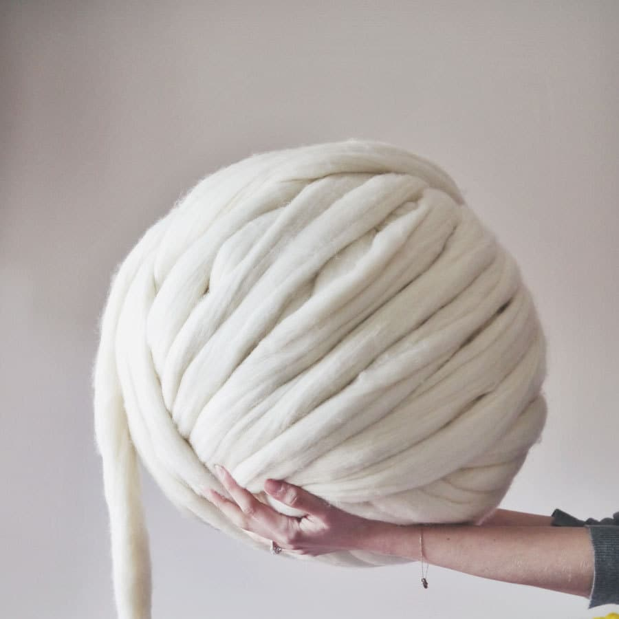 Giant Knitting Needles And Wool Uk : Giant yarn knitting wool quick delivery extreme