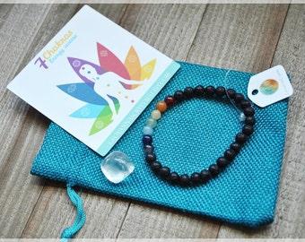 Seven Chakras Bracelet,Chakra Bracelet,Chakra stones,Healing bracelet,Chakra jewelry,Reiki Charged,meditation bracelet,Yoga,Mala bracelet