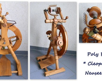 Spinning wheel poly Rayman * CLEOPATRA * with 3 COILS, functional
