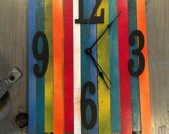 Pallet Clock, Strips