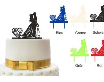 Personalized Cake Topper cake plug cake wedding cake scene 1