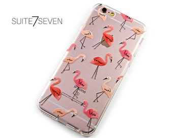 iPhone Cases, Galaxy Cases, iPhone 7 Case, iPhone 6s Case, iPhone 6 Case, iPhone 6 Plus Case, Galaxy S8 Case, Clear Case, Flamingos