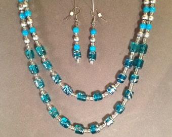 Handmade Beaded Necklace Set