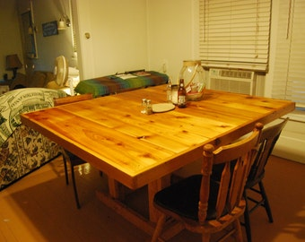 Rustic Cedar Table