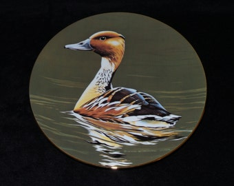 """1991 W.S. George The Federal Duck Stamp """"Fulvous Whistling Duck"""" Collector Plate by Burton E. Moore, Jr."""