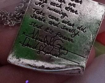 Grey's Anatomy Necklace