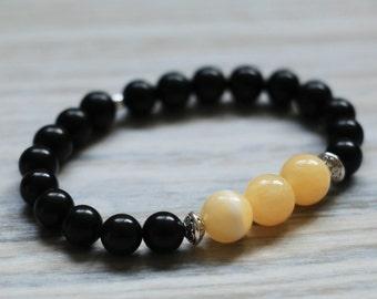 Golden Gemstone Bracelet