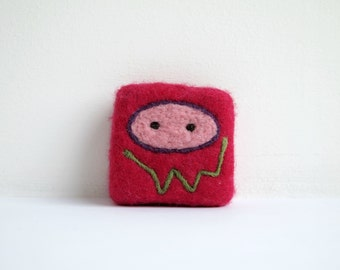 Felted soap - Red