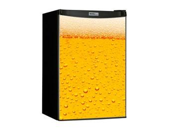 Beer Bubbles Mini Fridge Magnet cover 24x30