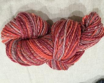Hand spun yarn