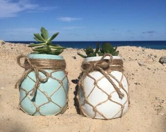 Succulent jars