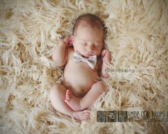 VeGaN Cream Faux Fur Photography Props, Washable, Animal Friendly, Soft Photography Props Babies, LARGE Flooring, Studio Props, BlonDie