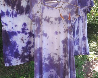 Hand dyed tie-dye