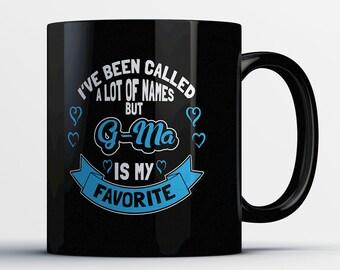 G-ma Gift - G-ma Coffee Mug - G-ma Mug - Gifts for G-ma - G-ma Birthday Present - G-ma Coffee Cup