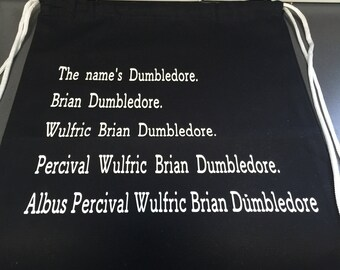 Harry Potter - Dumbledore Draw-String Backpack