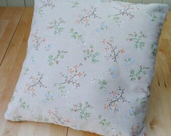 """Floral Cushion Cover 16"""" x 16"""""""