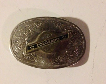 Vintage COLORADO belt buckle