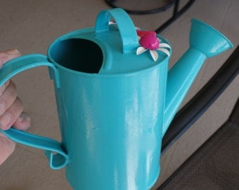 Shabby Chic Happy Little Watering Can