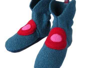 Slippers, slippers, booties, slippers, slippers, baby shoes, teal, 29