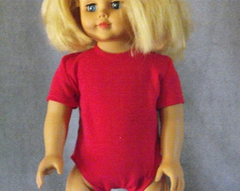 Short Sleeve Bodyshirt for American Girl and other 18 inch dolls