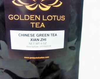 Chinese Blooming Green Tea Xian Zhi