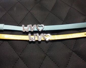 """WV """"LOVE"""" Bracelet"""