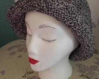 Gray cotton hat
