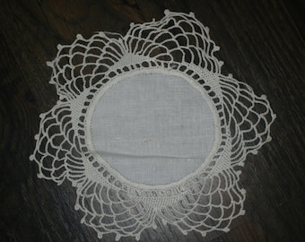 Two Victorian Doilies