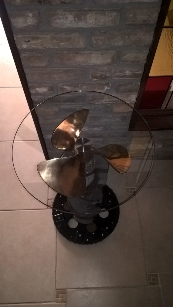 Propeller End Table
