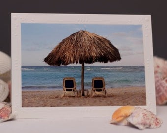 Photography Note Card, Photography cards, Beach Photography, Blank Note Cards, Thank You Cards, Greeting Cards blank, Beach, Beach Cards
