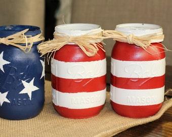 4th of July Stars & Stripes Pint Size