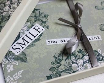 Postcard Box with envelopes: Motivational & inspirational messages