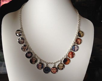 All 13 doctors who epoxy charm necklace
