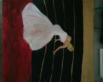 Jennifer Lawrence painting