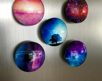 Galaxy Magnets (Set of 5)