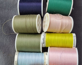 Spoils of thread 13 beautiful colors of spools of thread
