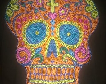 Day of the Dead  XL Skull