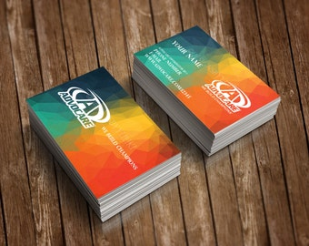 New!!! Advocare Business Cards • Full Color • UV Coated or Matte Finish • Quick Turnaround